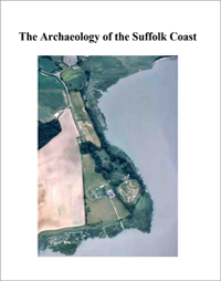 front cover of 2007 report archaeology of the Suffolk coast