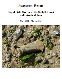 front cover of field survey 2003 report