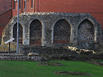 remains of Blackfriars