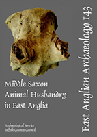 front cover with photo of an animal bone