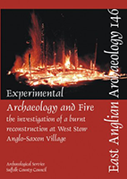 front cover with image of burning building