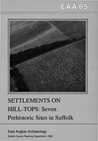 front cover showing aerial photo of prehistoric cropmarks