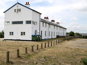 WWII buildings at Dunwich